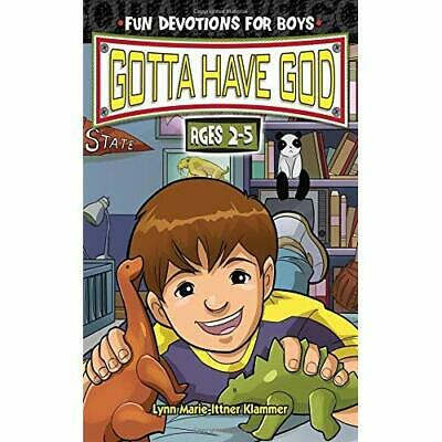 Gotta Have God Fun Devotions for Boys Ages 2-5 - Spiral-bound NEW Klammer, Lynn