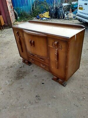 Solid wooden sideboard/chest possible 30-50s