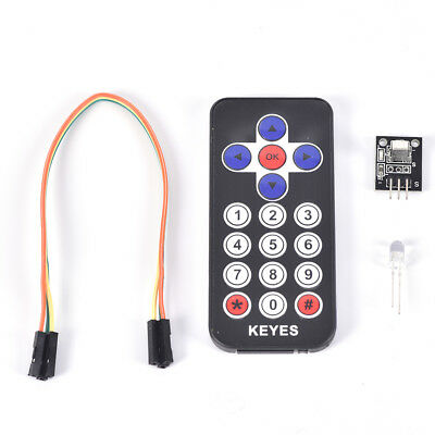1Pc Portable Infrared IR Wireless Remote Control Module Kits for Arduino AS