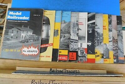 Model Railroader Magazine Complete Year 1958 12 issues