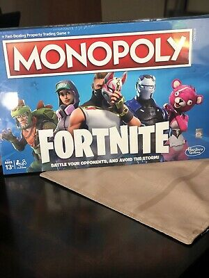 Monopoly: Fortnite Edition Board Game Inspired by Fortnite Video Game Ages 13