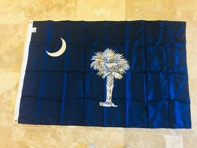 SOUTH CAROLINA ANNIN FLAGMAKER 2X3 4X6 5X8 MADE IN USA 200D 2PLY American Flags