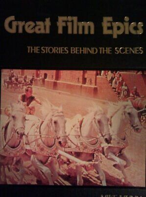 Stories Behind the Scenes of the Great Film Epics by Munn, Mike Paperback Book