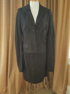 5e67a81b42a YSL Yves Saint Laurent Skirt Suit Jacket Stitching Exaggerated Sleeve Blazer  44