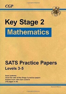 Maths SATS Practice Papers - Bookshop KS2 by CGP Books Paperback Book The Cheap