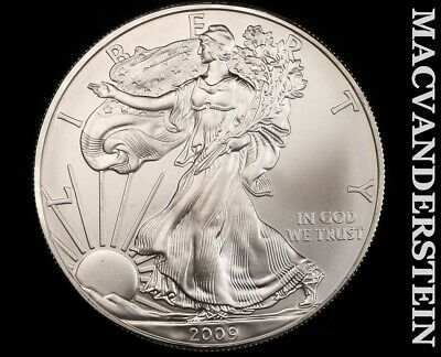 2009 American Silver Eagle 1 Ounce-Ch Gem Brilliant Unc!! No Reserve!! #f3437