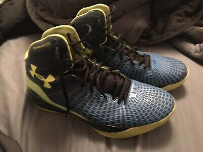 b17f2c37afe4 UNDER ARMOUR MICRO G Clutchfit Drive Basketball Shoes 1246931 408 Sz ...