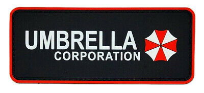 Resident Evil Umbrella Corporation Patch {PVC Rubber-Hook]