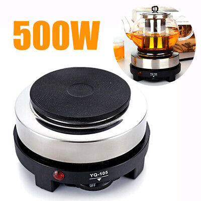 220V 500W Electric Mini Stove Cooking Hot Plate Coffee Tea Cooker Heater Warmer