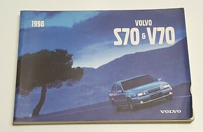 2001 VOLVO V70 Wagon Owner Owner's Manual User Guide Wagon
