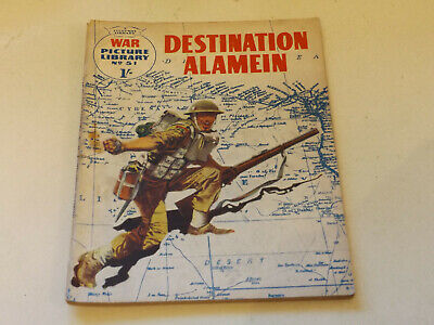 WAR PICTURE LIBRARY NO 51 !,dated 1960 !,GOOD for age,great 59 ! YR OLD issue.