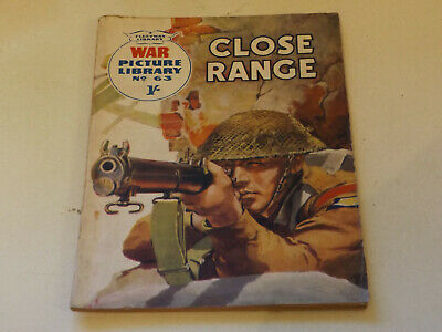 WAR PICTURE LIBRARY NO 63 !,dated 1960 !,GOOD for age,great 59 ! YR OLD issue.