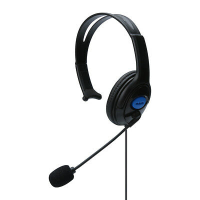 Wired Gaming Headset Headphones Earphone with Microphone for PS4 PC Laptop Phone