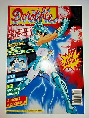 magazine club DOROTHEE n° 23 dragon ball Z COMME ZORGLUB  27/02/1990 KEN