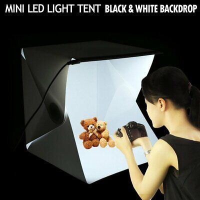 Portable Mini LED Room Photo Studio Photography Lighting Tent Backdrops Cube Box