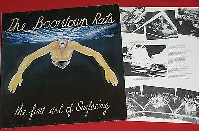 The Boomtown Rats - LP (VG+) The Fine Art Of Surfacing (Bob Geldof) mercury 1979