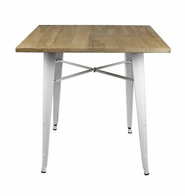 17 Stories Arnt Tolix Style Dining Table 159 99 Picclick