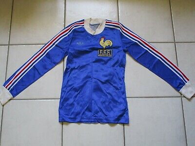 MAILLOT FOOTBALL EQUIPE DE FRANCE Argentine 1978 Adidas