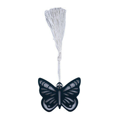 Hollow Butterfly Tassels Stainless Steel Bookmarks Student Stationery Supplies C