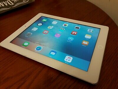 APPLE iPAD 3 WHITE 16GB Wi-Fi WORKING ORDER GREAT KIDS TABLET GOOD VALUE !