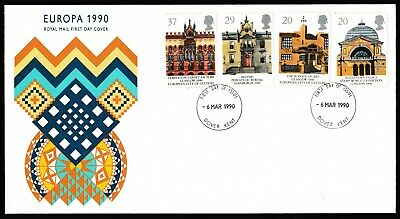 GB First Day Covers 1990. Dover Cancels. Pick your own.