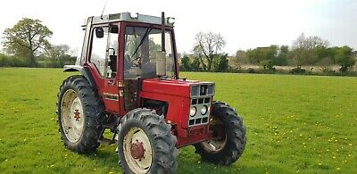 Case International 885xl 4x4 tractor comes with v5 no vat GWO