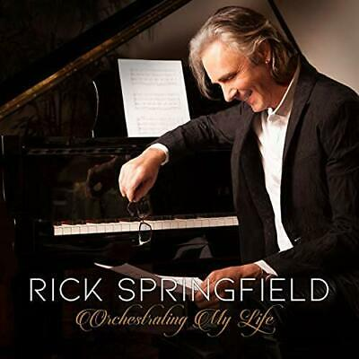 RICK SPRINGFIELD ORCHESTRATING MY LIFE CD (Released Friday April 26th 2019)