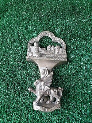 Conway Castle And Bridge North Wales Brass Door Knocker