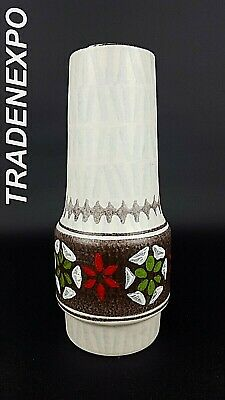 Vintage 1960's-70 JASBA KERAMIK Vase West German Pottery Fat Lava Era MCM