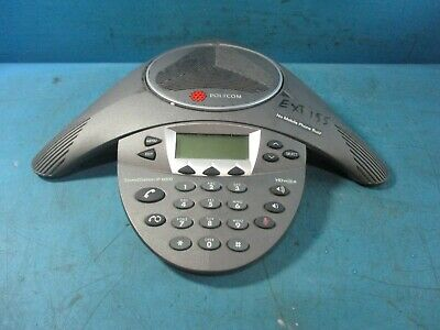 POLYCOM SOUNDSTATION IP 6000 Conference Phone W/Adapter & 2