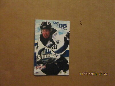 Echl Idaho Steelheads Vintage 2004 2007 Champions Hockey Season Ticket Brochure Fan Apparel & Souvenirs Sports Mem, Cards & Fan Shop