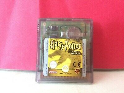 Jeu Nintendo Game Boy Color Harry Potter Et La Chambre Des Secrets En Loose