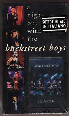Backstreet Boys. A Night Out with the Backstreet Boys - VHS NUOVA SIGILLATA