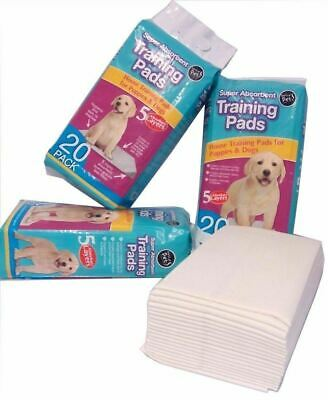 New Dog Puppy House Large Absorbnt Trainig Trainer Pads Toilet Wee 60 X 45cm