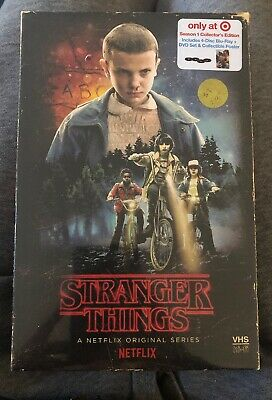 Stranger Things Season 1 Collector's Edition (Blu-ray + DVD) BRAND NEW, SEALED