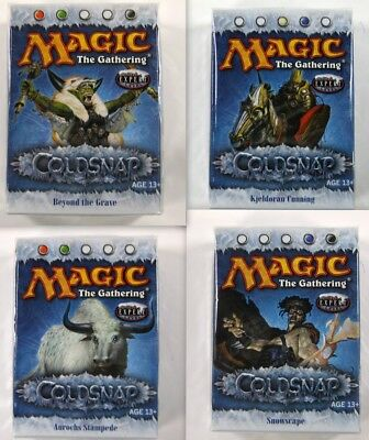 Magic the Gathering: alle 4 Coldsnap Theme Decks engl. - MtG Preconstructed Deck