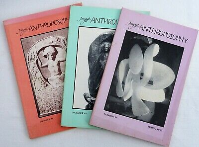 Journal for Anthroposophy #48, 49, 50 - VERY GOOD