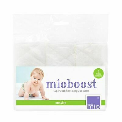 Booster Bambino Mio MioBoost Super Absorbent 3 Pack Microfibre Newborn or Extra