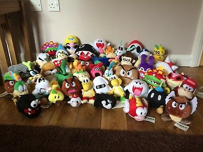 Super Mario Plush Collection Choose From 35 Different Heroes