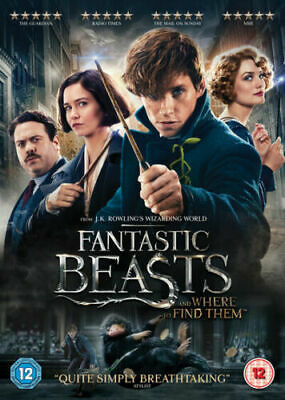 Fantastic Beasts And Where To Find Them Eddie Redmayne Warner Uk Dvd & Uv New
