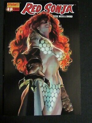 Red Sonja #1 (2005) Dynamite Alex Ross Cover  NM 9.2  H273