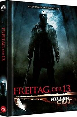 Mediabook FREITAG DER 13.  KILLER CUT Limited Uncut Edition  COVER B BLU-RAY Neu