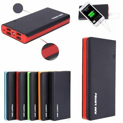 NEWSPOWER 4 USB 900000mAh Power Bank LED External Backup Battery Charger F Phone