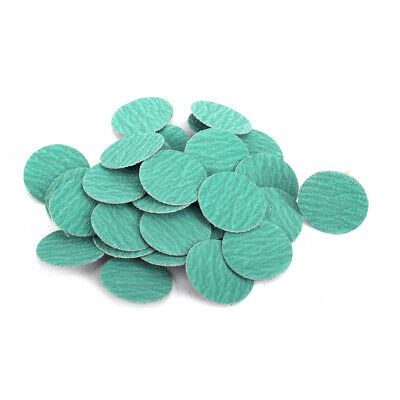 """25Pc 3"""" Zirconia Roloc Sanding Disc Roll Lock Abrasive Pad 60# For Surface Clean"""