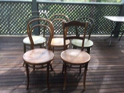 5 Very Old Chairs. Brentwood Style. Pick Up Only
