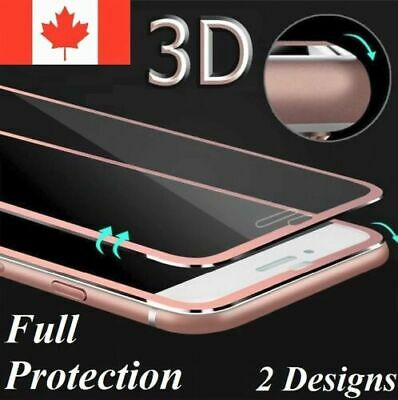 Full Cover 3D Premium 9H Tempered Glass Screen Protector For iPhone 6 6s 7 8Plus