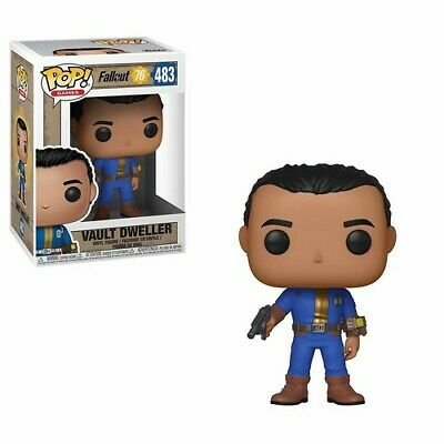 Fallout 76 - Vault Dweller (Male) - Funko Pop! Games: (2019, Toy NEUF)