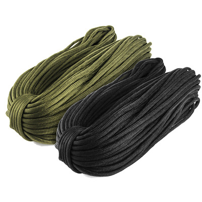 Paracord Cámping Cuerda 7 Strand Paracord String Type lll Desert Survival Rope