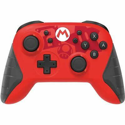 HORI Nintendo Switch Wireless HORIPAD Rechargeable Controller-Mario Edition-NEW!