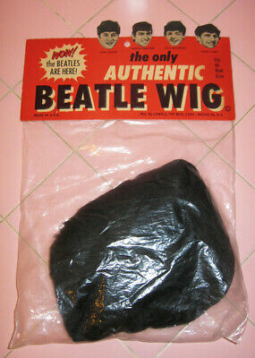 NEW UnOpened 1960s Beatles WIG Only Authentic Lowell Toy John Paul George Ringo